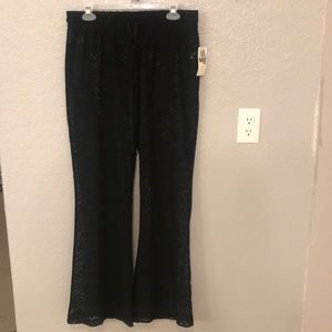 Swim cover-up pants
